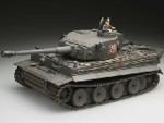 Tank PRO Airsoft German Tiger I (E) Grey