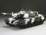 Tank PRO IR German Leopard 2 A6 Winter