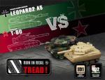 Tanky Double Leopard 2 NATO vs.T80 Desert