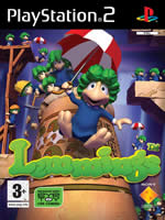 Hra pre Playstation 2 Lemmings