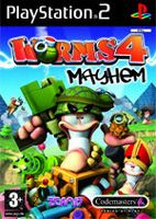 Hra pre Playstation 2 Worms 4: Mayhem