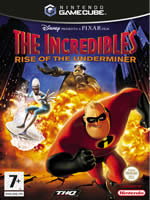 Hra pre GameCube The Incredibles: Rise of the Underminer