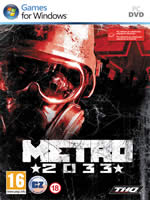 Hra pre PC Metro 2033 CZ (EN. manuál)