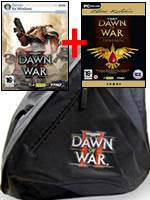 Hra pre PC WarHammer 40000: Dawn of War 2+1 (Superpack) + batoh