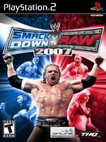 Hra pre Playstation 2 WWE SmackDown! vs. RAW 2007