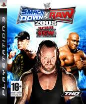 Hra pre Playstation 3 WWE SmackDown! vs. RAW 2008