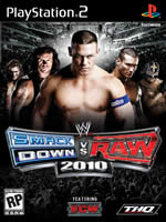 Hra pre Playstation 2 WWE SmackDown! vs. Raw 2010