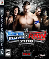 Hra pre Playstation 3 WWE SmackDown! vs. Raw 2010