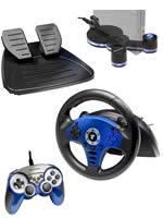 Príslušenstvo pre Playstation 2 volant Thrustmaster Compact Racing Wheel + gamepad + stojan