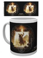 Hrnček Assassins Creed: Origins - Wanderer Mug biely