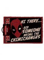 Hračka Rohožka Deadpool - Chimichangas