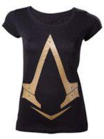 Tričko dámske Assassins Creed - Gold Logo