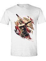 Herné oblečenie Tričko Assassins Creed: Odyssey - Kassandra Charge (veľkosť L)