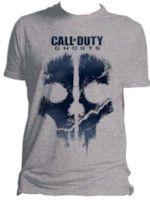 Herné tričko Tričko Call of Duty: Ghosts - Skull Art (veľkosť L)