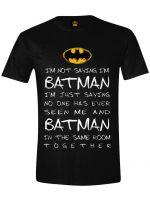 Hern� tri�ko Tri�ko Batman: Mystery Men (ve�. XL)