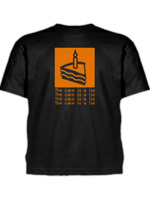 Herné tričko Tričko The Cake is a Lie (Half-Life/Portal) (americká veľ. XL / európska XXL)