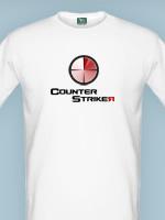 Herné tričko tričko Counter Striker (veľkosť L)