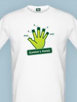 Herné tričko tričko Gamers Hand (veľkosť L)