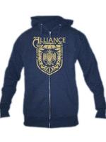 Hern� tri�ko Mikina World of Warcraft Alliance Crest s kapuc�ou (americk� ve�kos� L / eur�pska XL)