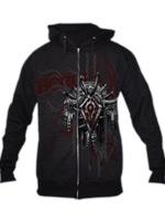 Herné tričko Mikina World of Warcraft Horde Crest verzia 2 s kapucňou (americká veľkosť M)
