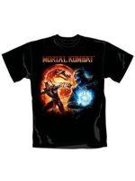 Herné tričko Tričko Mortal Kombat - Cover (veľ. L)