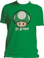 Herné tričko Tričko Nintendo - Go Green (veľ. S)