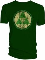 Herné tričko Tričko Zelda Triforce Symbol (veľ. L)
