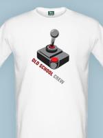 Herné tričko tričko Old School (veľkosť M)