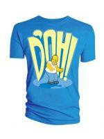 Herné tričko Tričko Simpsons - DOH (veľ. S)