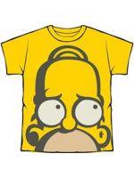 Herné tričko Tričko Simpsons - Homer Grafitti Head (veľ. L)