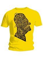 Herné tričko Tričko Simpsons - Head (veľ. L)