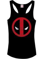 Herné tričko Tielko Deadpool Logo (dámske) (veľ. L)