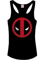 Hern� tri�ko Tielko Deadpool Logo (d�mske) (ve�. L)