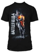 Herné tričko Tričko Battlefield 4 Bravo Premium (americká veľ. M / európska L)