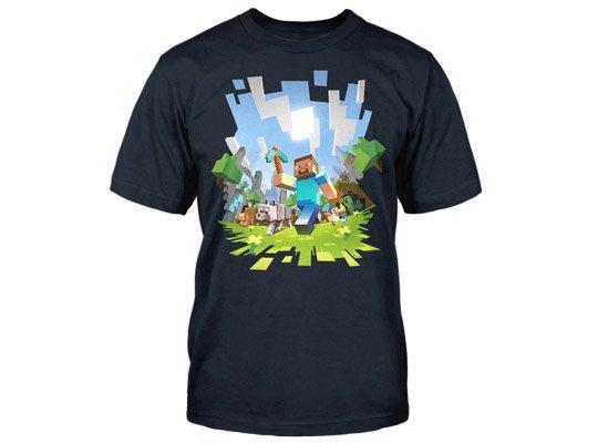 357f060060c3 Tričko Minecraft Adventure (americká veľ. detské XL) Herné oblečenie