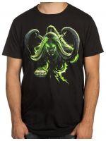 oblečení pro hráče Tričko World of Warcraft: Legion - Illidans Revenge (amer. vel. S / eur. vel. M)