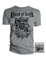 Hern� tri�ko Tri�ko Zelda - Coat of Arms (ve�. M)