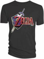 Herné tričko Tričko Zelda - Nintendo Zelda Shield (veľ. S)