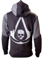Herné tričko Mikina Assassins Creed IV Black Flag veľkost XL (šedomodrá)