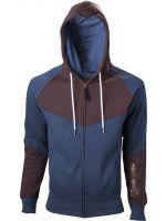 oblečení pro hráče Mikina Assassins Creed: Unity - modro-hnědá (velikost S)