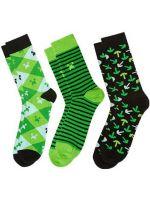 Herné tričko Ponožky Minecraft zelené (L)