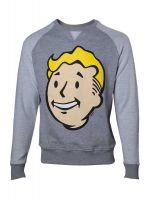 Herné tričko Mikina Fallout 4: Vault Boy hlava (veľ. S)