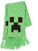 Šál Minecraft Creeper - zelený