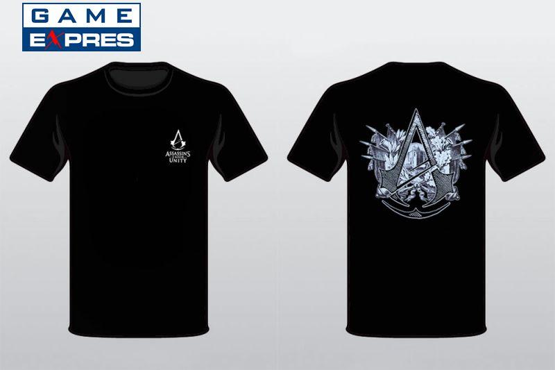 7e38f914f4f tričko Assassins Creed  Unity (velikost L) oblečení pro hráče ...