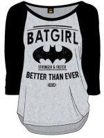 Herné tričko Tričko Batgirl (dámske s dlhým rukávom) (veľ. XXL)
