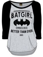 Hern� tri�ko Tri�ko Batgirl (d�mske s dlh�m ruk�vom) (ve�. XXL)