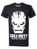 Herné tričko Tričko Call of Duty: Black Ops III - Grunge Skull Logo (veľ. L)