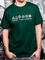 Herné tričko Tričko Choose Your Weapon (americká veľ. L / európska XL)