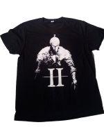 Herné tričko Tričko Dark Souls 2, čierne (veľkosť M)