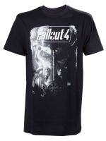 Herné tričko Tričko Fallout 4: Brotherhood of Steel (veľ. XL)